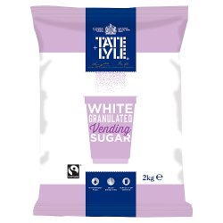 Tate & Lyle Sugars Fairtrade Vending Sugar 2kg