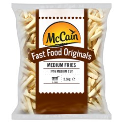 McCain Fast Food Originals Medium Fries 2.5kg