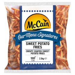 McCain Menu Signatures Sweet Potato Fries 2.5kg