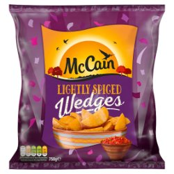 McCain Lightly Spiced Wedges 750g