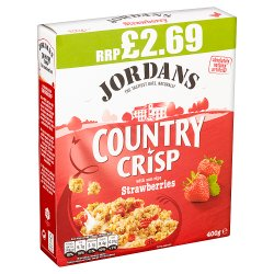 Jordans Country Crisp with Sun-Ripe Strawberries 400g