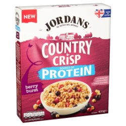 Jordans Country Crisp Source of Protein Berry Burst 400g