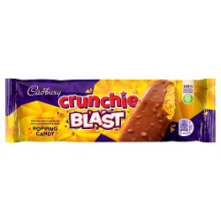 Cadbury Crunchie Blast with Popping Candy 100ml