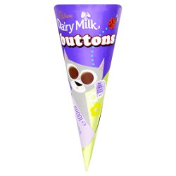 Cadbury Button Cone
