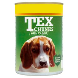 Tex Chunks with Rabbit 400g