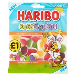 HARIBO Eggs Galore! Bag 180g £1 PM