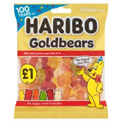 HARIBO Goldbears Bag 160g £1PM