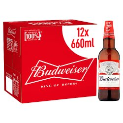 Budweiser Beer 12 x 660ml
