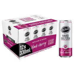Mike's ABV Hard Seltzer Black Cherry 12 x 330 ml Cans