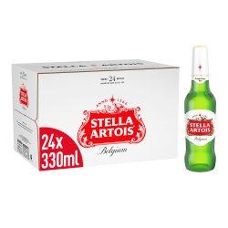 Stella Artois Belgium Premium Lager 24 x 330ml