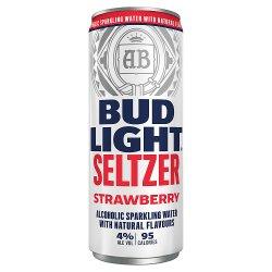 Bud Light Seltzer Strawberry Can 330ml