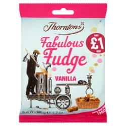 Thorntons Fabulous Vanilla Fudge Bag £1 PMP 120g
