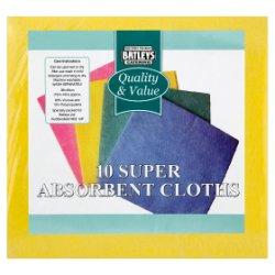 Batleys Catering 10 Super Absorbent Cloths