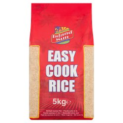Island Sun Easy Cook Rice 5kg