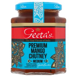 Geeta's Premium Mango Chutney Medium 320g