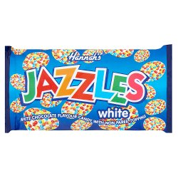 Hannah's Jazzles White