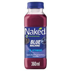 Naked Blue Machine Blueberry Smoothie 360ml