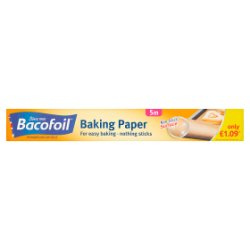 Bacofoil Baking Paper 30cm x 5m £1.09 PMP