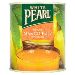 White Pearl Kesar Mango Pulp Sweetened 850g