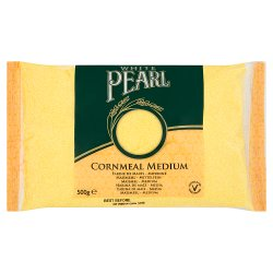 White Pearl Cornmeal Medium 500g