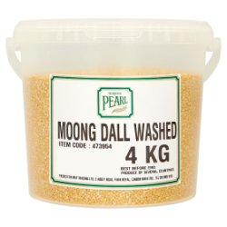 White Pearl Moong Dall Washed 4kg