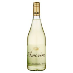 Amorino Bianco Slightly Sparkling Perry 75cl