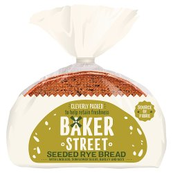 Baker St Sliced Seeded Rye Bread
