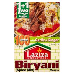 Laziza International Biryani Masala Spice Mix 100g