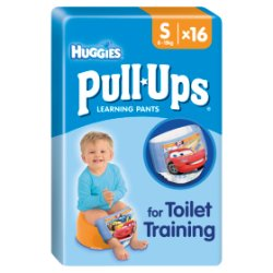 Huggies® Pull-Ups® Day Time Boys Size S (8-15kg, 18-33lbs) 16 Pants