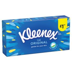 Kleenex® The Original Tissues 6 Boxes £1 PMP