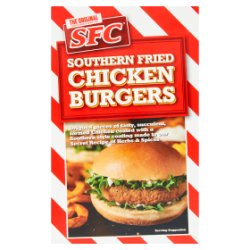 SFC The Original Southern Fried Chicken Burgers 228g