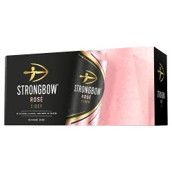 Strongbow Rosé Cider 10 x 440ml