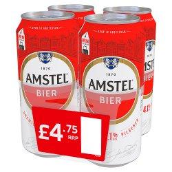 Amstel Bier Premium Pilsener 440ml £4.75 PMP Cans