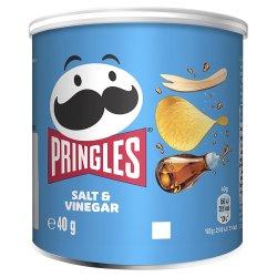 Pringles Salt & Vinegar Crisps 40g