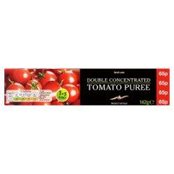 Best-One Double Concentrated Tomato Puree 142g