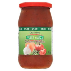 Best-One Pasta Sauce Onion & Garlic 420g