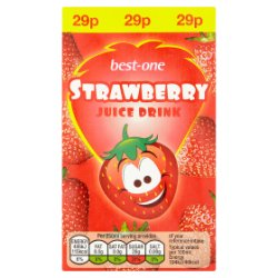 Best-One Strawberry Juice Drink 250ml