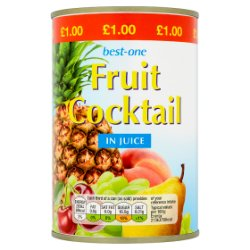 Best-One Fruit Cocktail in Juice 411g