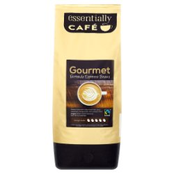 Essentially Café Gourmet Fairtrade Espresso Beans 1kg