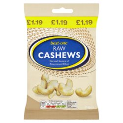 Best-One Raw Cashews 70g