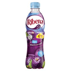 Ribena Blackcurrant Light PM £1