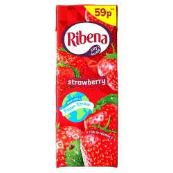Ribena Strawberry 250ml 59p PMP