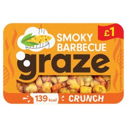 Graze Smoky Barbecue Crunch 31g