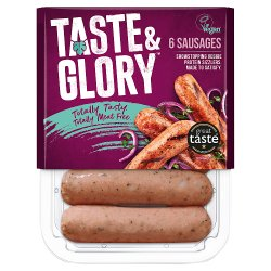 Naked Glory 6 Sausages 240g