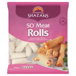 Shazans 50 Meat Rolls 1.65kg