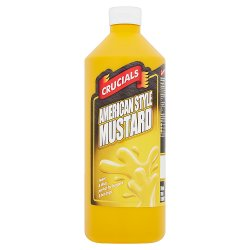 Crucials American Style Mustard 1 Litre