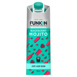 Funkin Cocktail Mixer Raspberry Mojito 1L