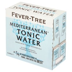 Fever-Tree Mediterranean Tonic Water 8 x 500ml