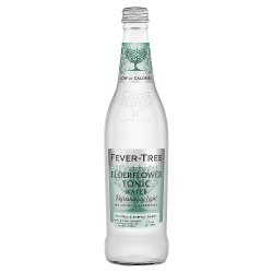 Fever-Tree Refreshingly Light Elderflower Tonic Water 500ml
