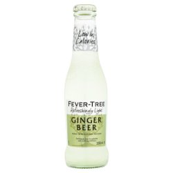 Fever-Tree Refreshingly Light Ginger Beer 200ml